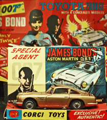 museum of brands branding - james bond